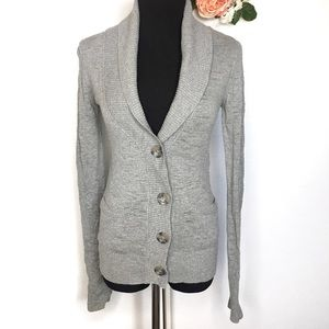 Mossimo | Gray Button Front Cardigan